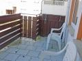 Balkon an Küche OG
