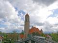 Blick aus Fenster zur Pauluskirche