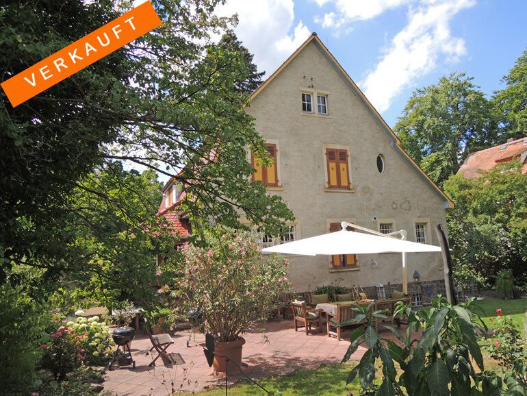 Stil-Villa in der Eberstädter Villenkolonie