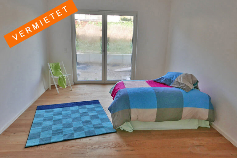 3-Zimmer-Neubau-Wohnung in Wohnanlage 50 +