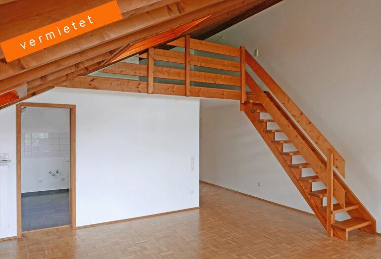 1-Zimmer-Galerie-Wohnung im Paulusviertel